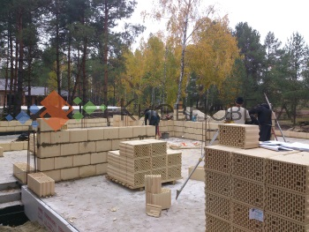 Строительство дома из каремоблоков