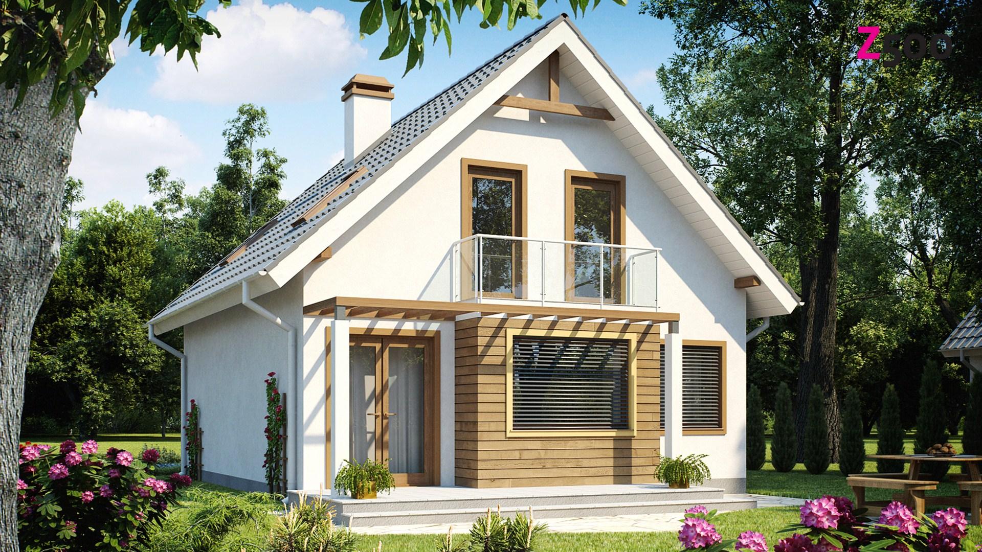 Готовый проект дома z99 dk с ценой, реализация и интерьер 1h.