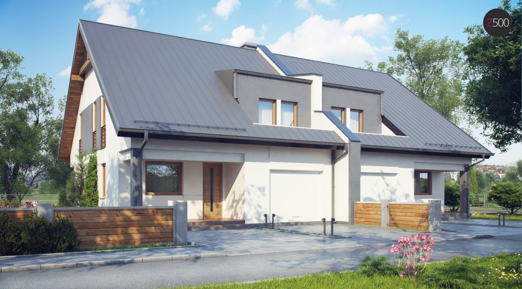 проект дома Zb15