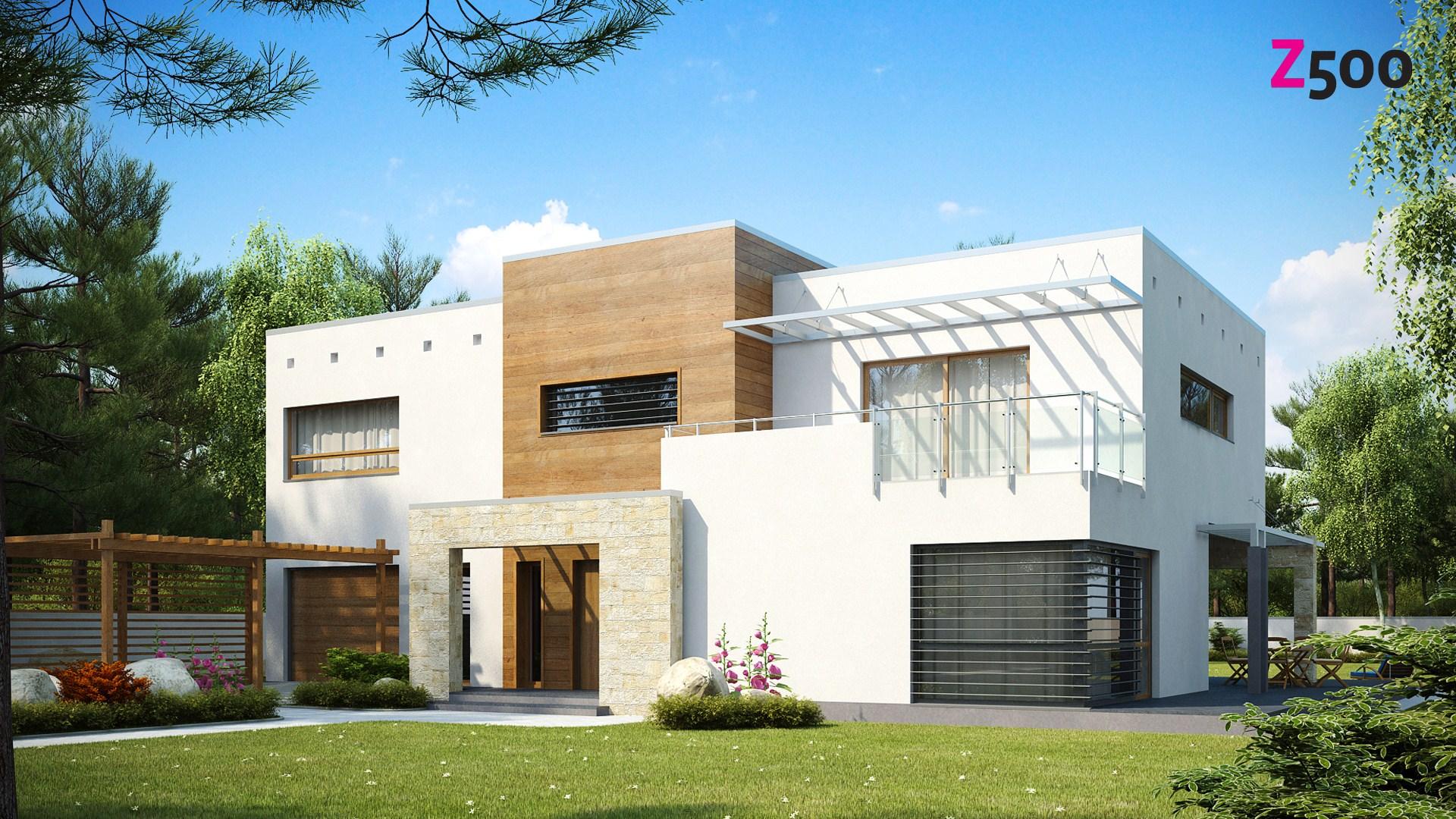 проект дома Zx15