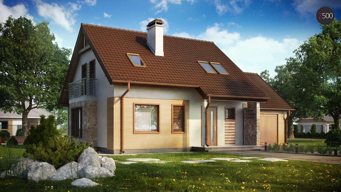 проект дома Z102_GP