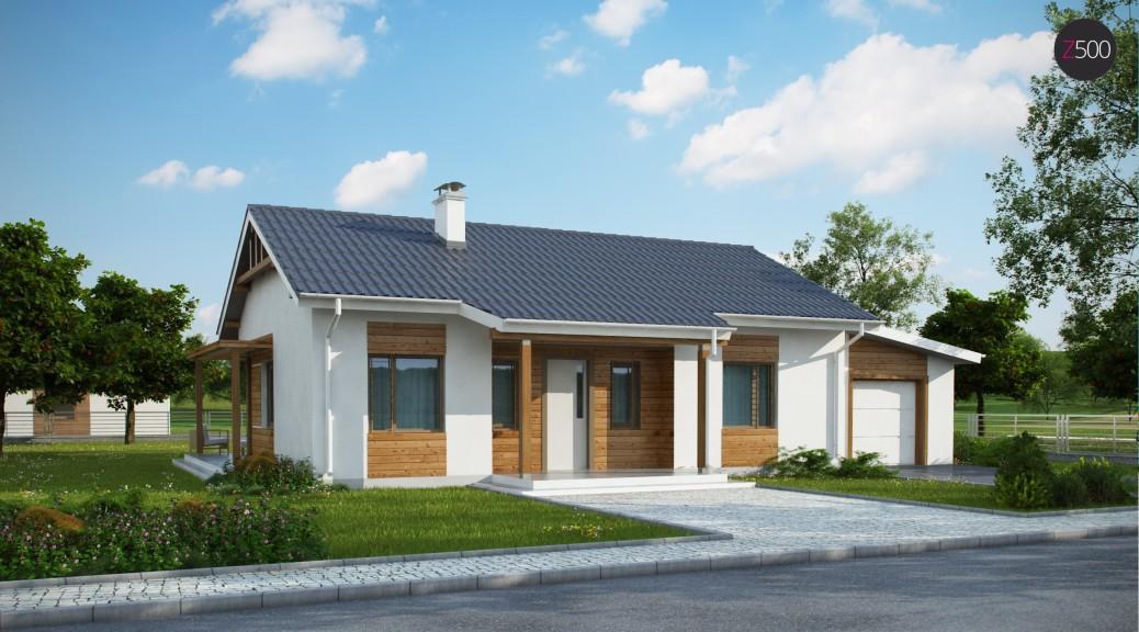 проект дома Z136_GP