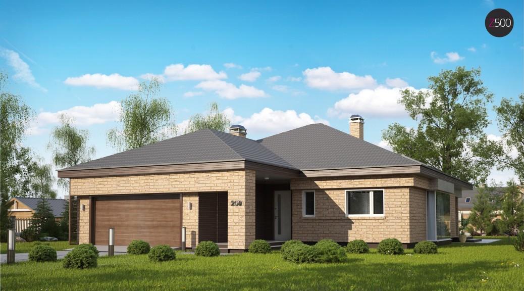 проект дома Z200_k