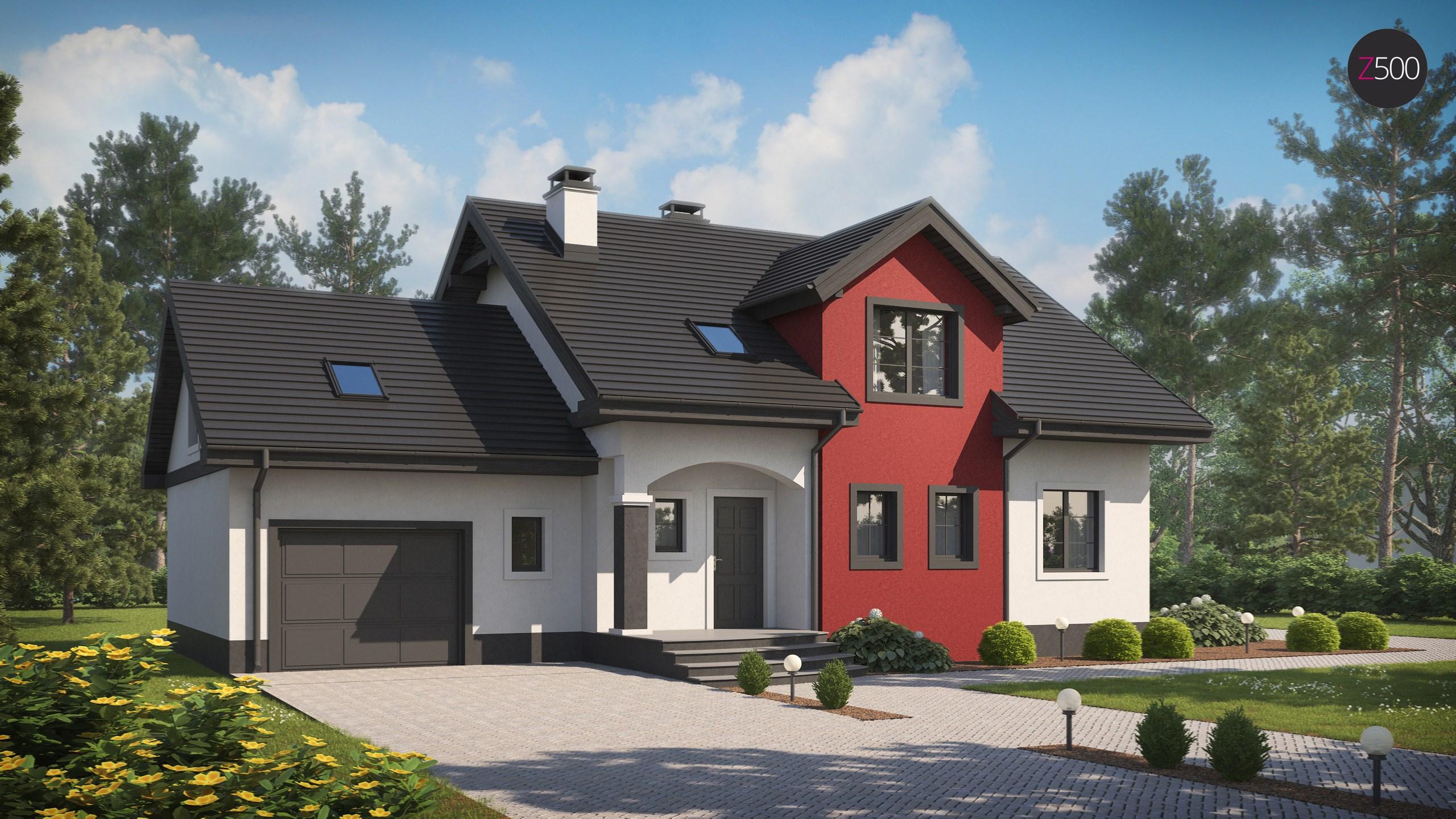 проект дома Z28_GL