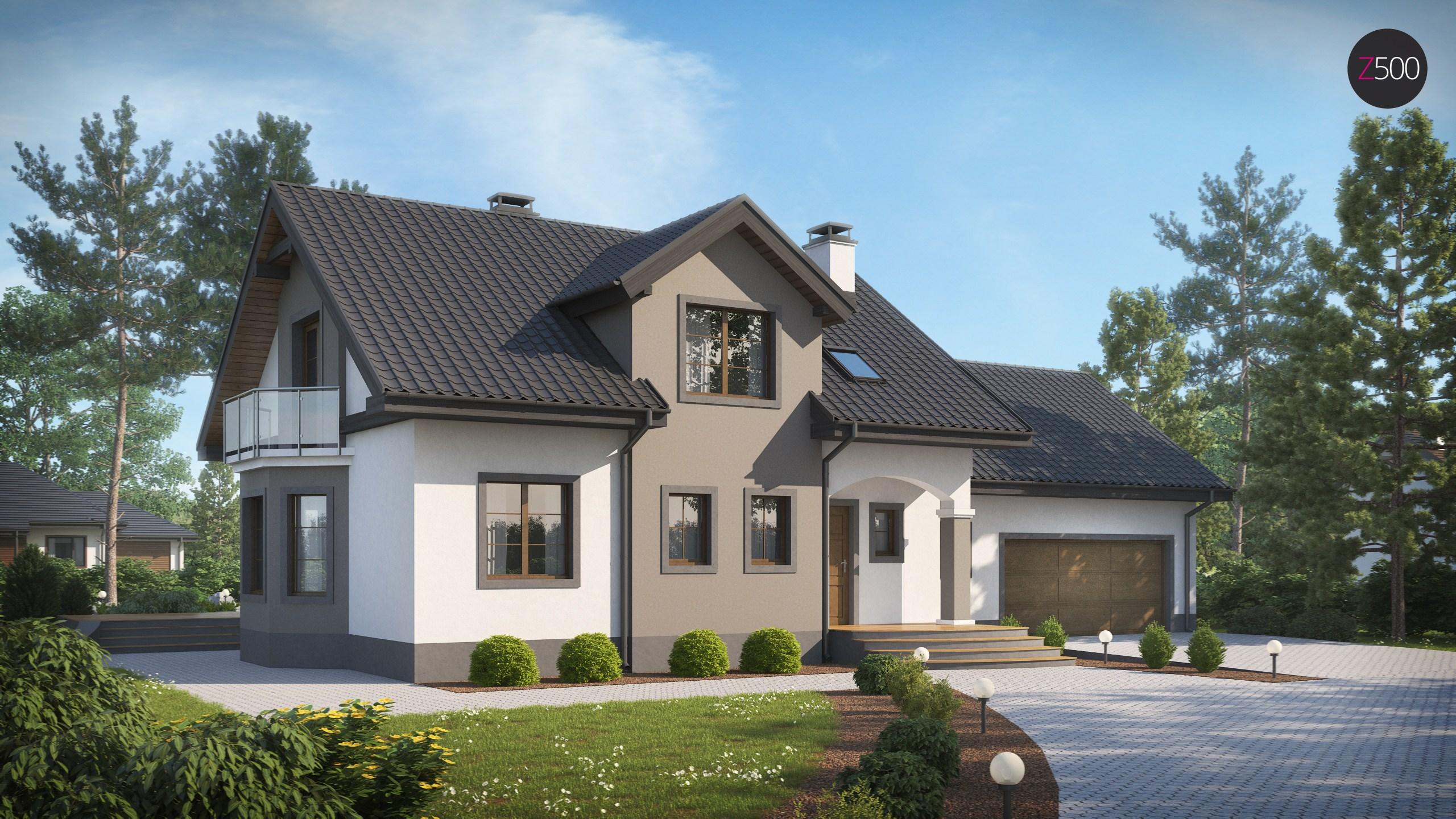 проект дома Z28_L_GP2