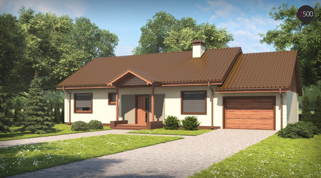 проект дома Z91_GP