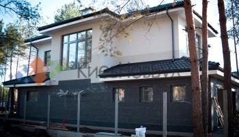 Фасады домов короед штукатурка фото