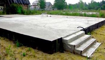 плитний фундамент