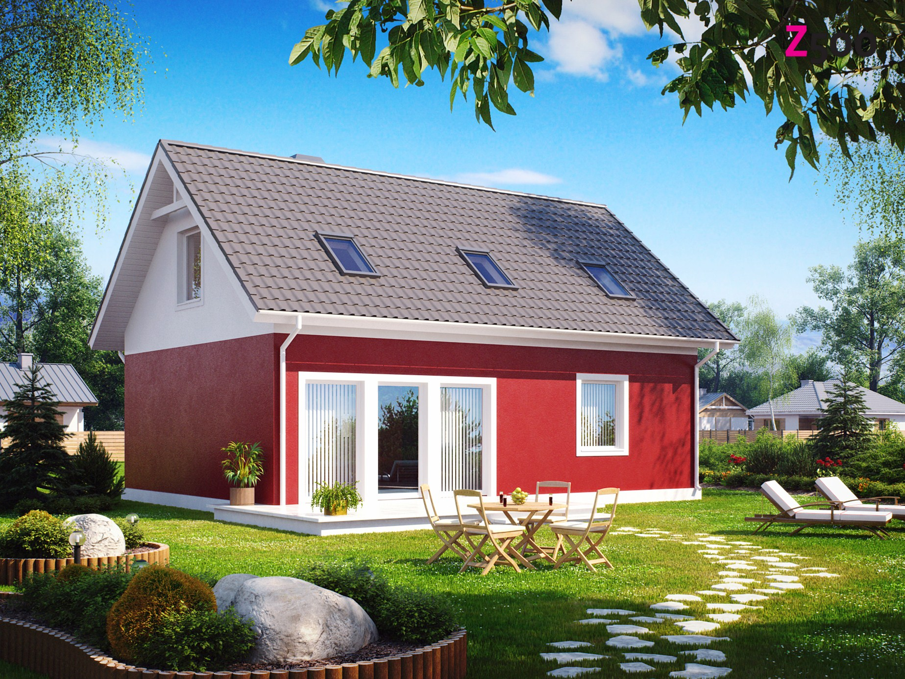 проект дома z34