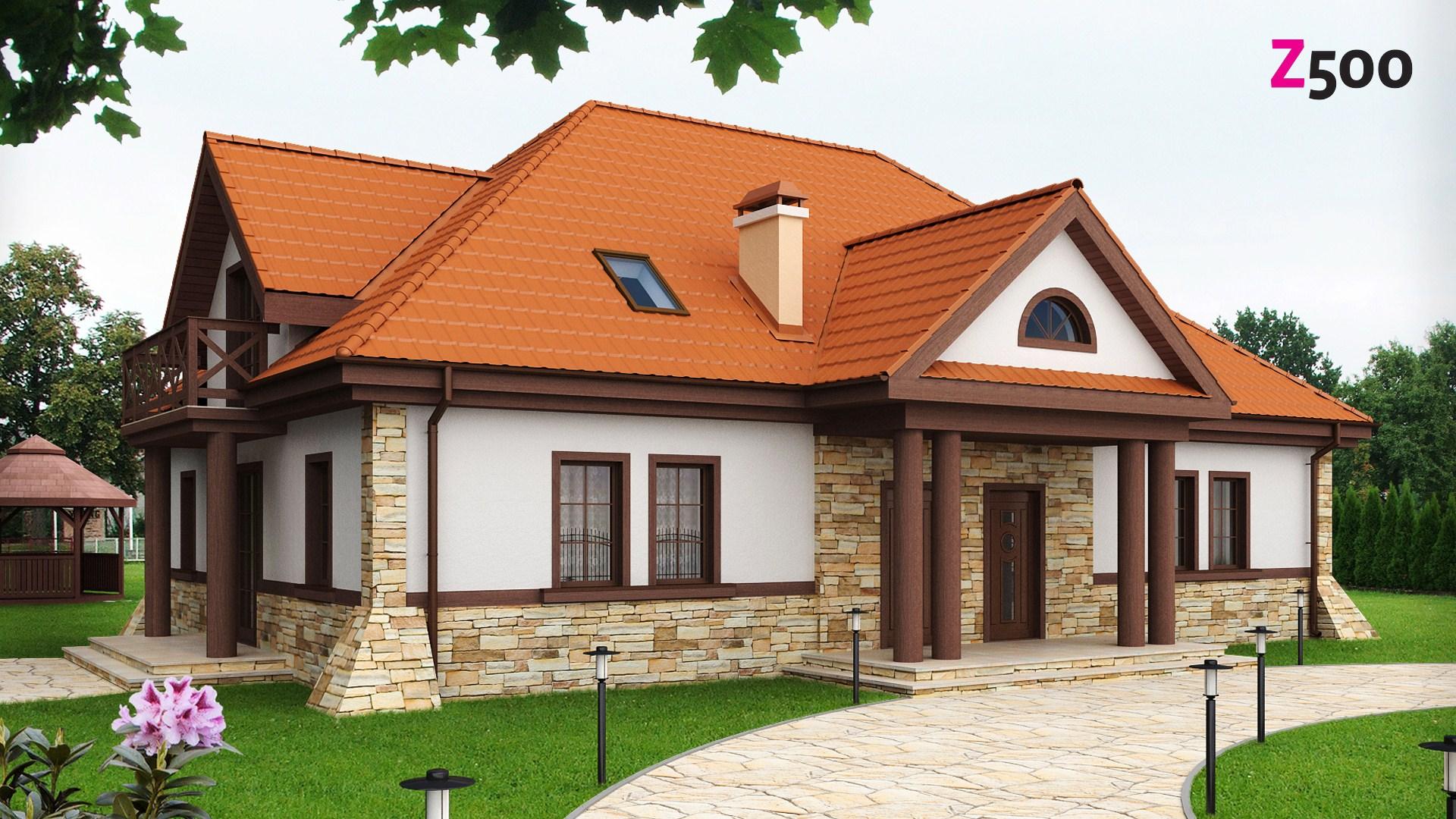 проект дома z46
