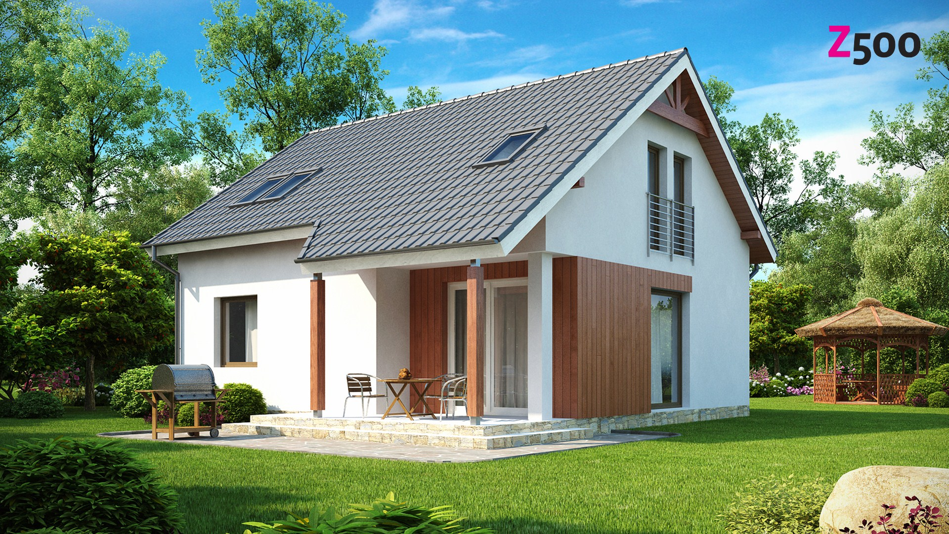 проект дома z75