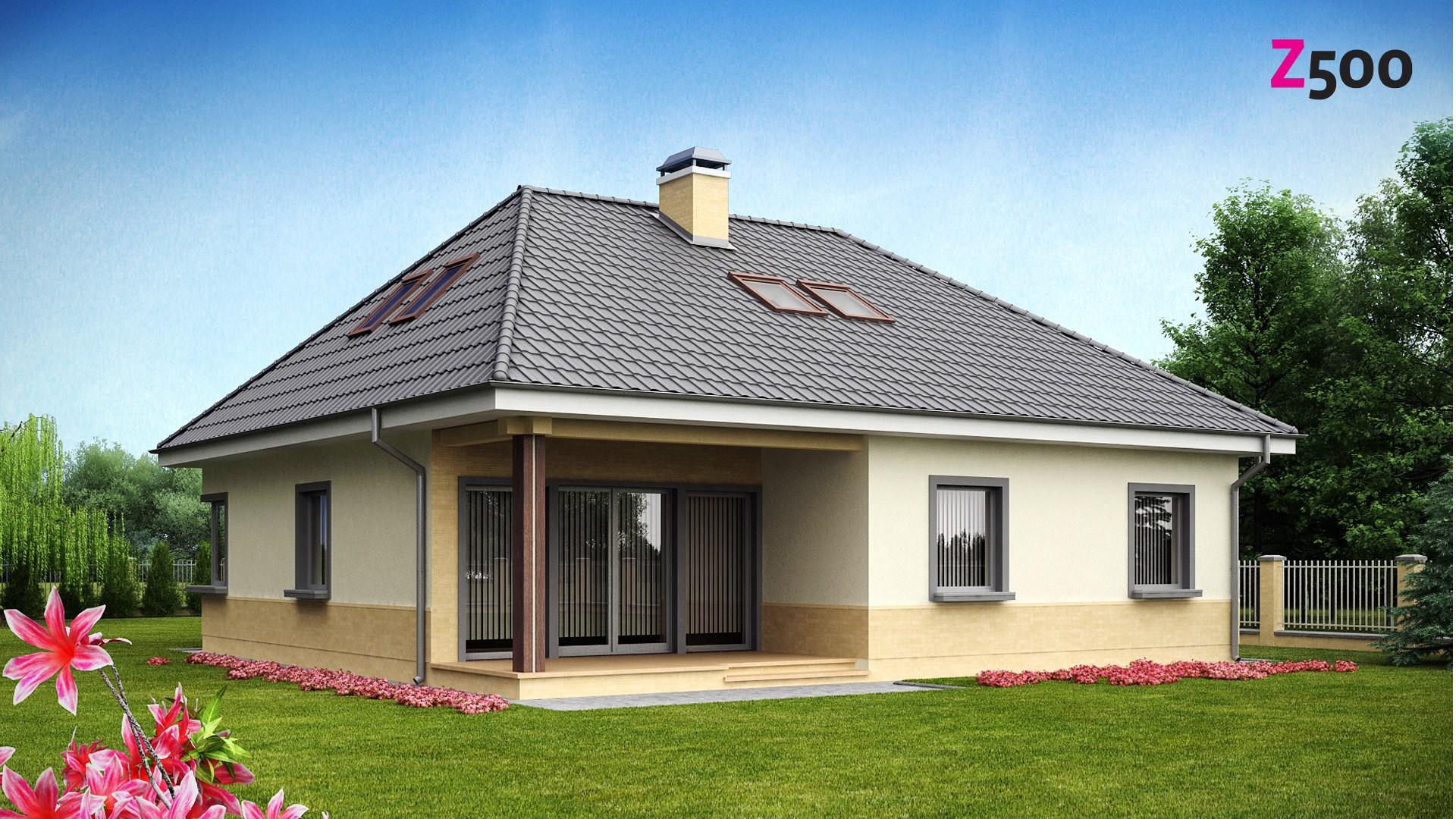 проект дома z84
