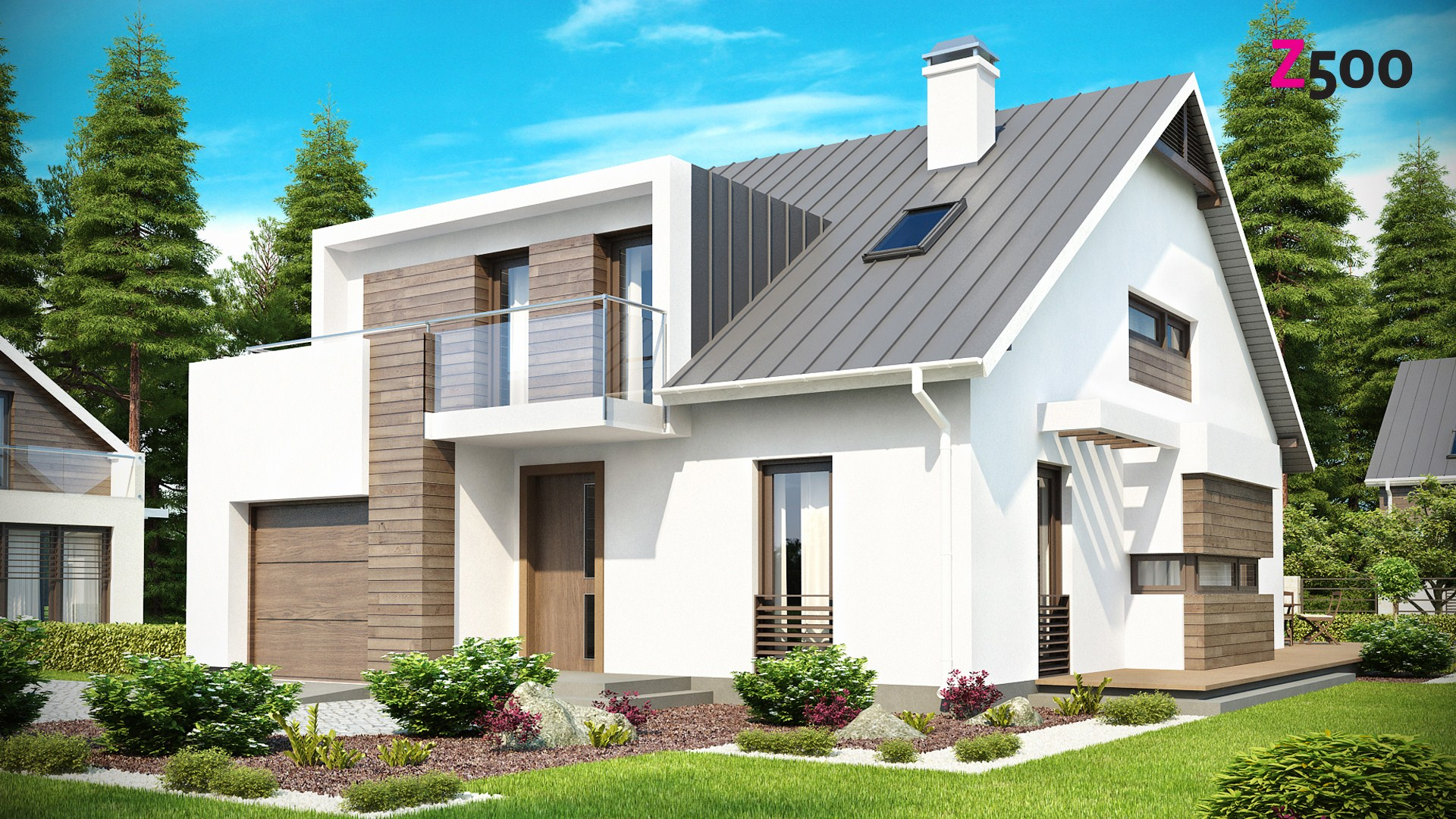 проект дома z116