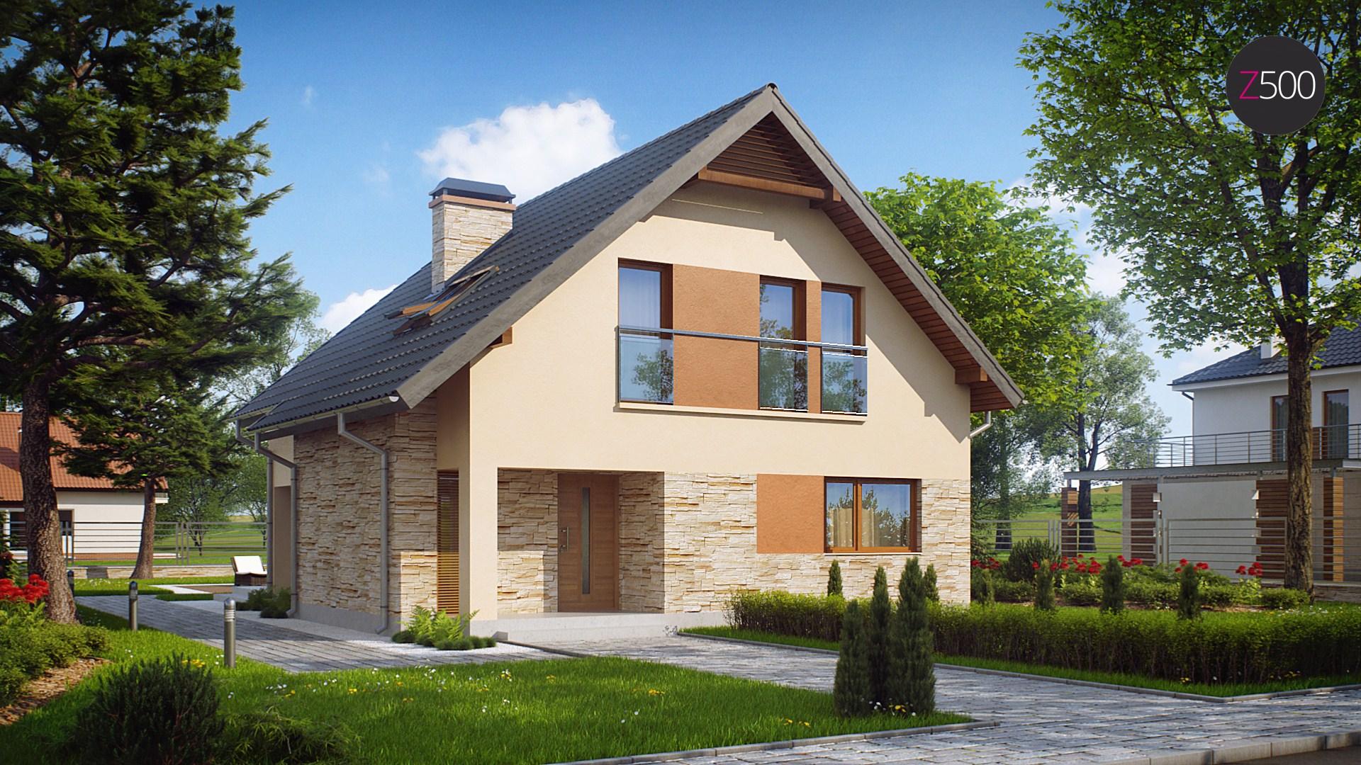 проект дома z134
