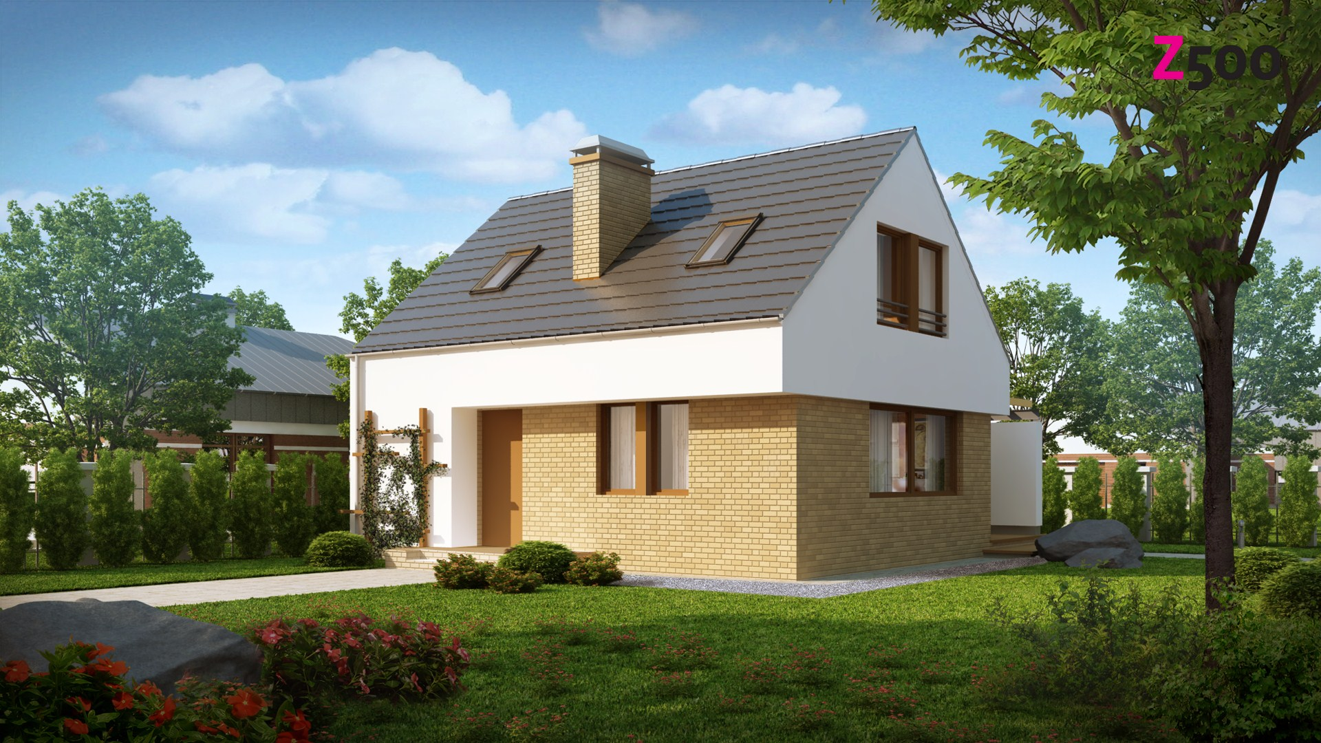 проект дома z221