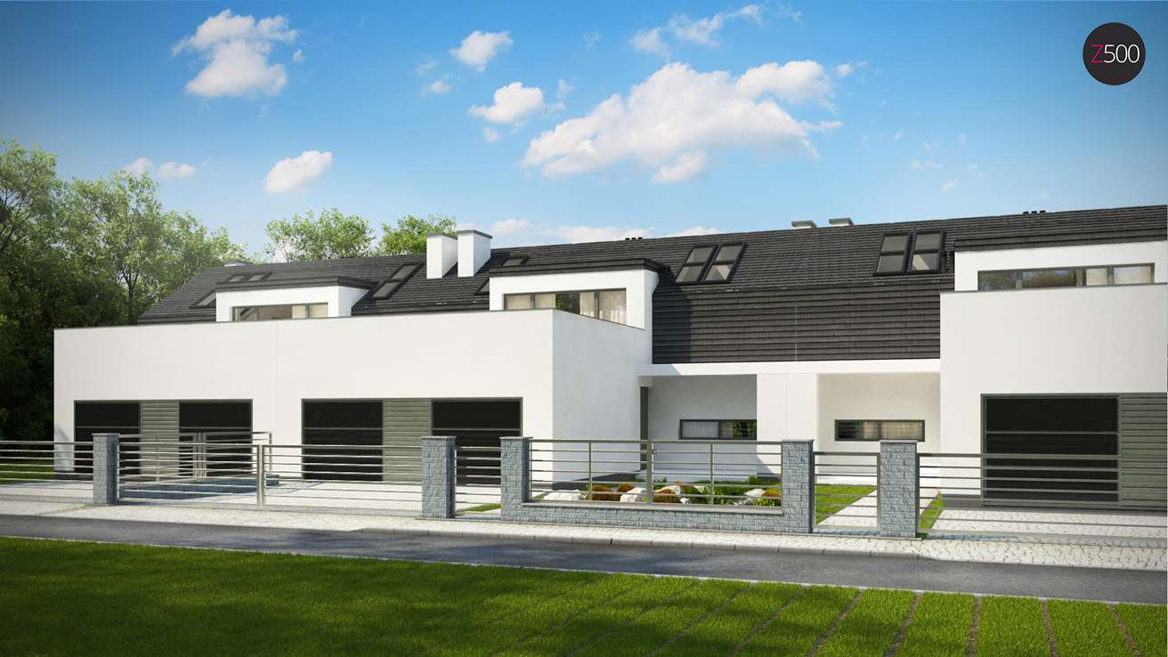 проект дома Zb17