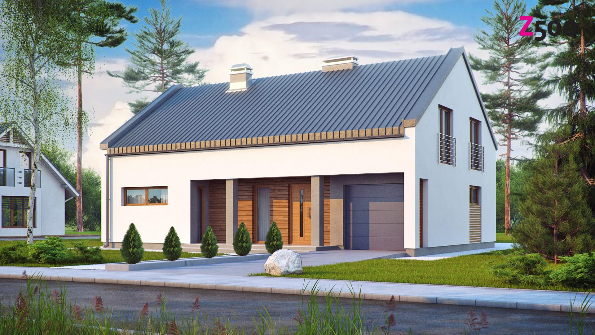проект дома Zx43