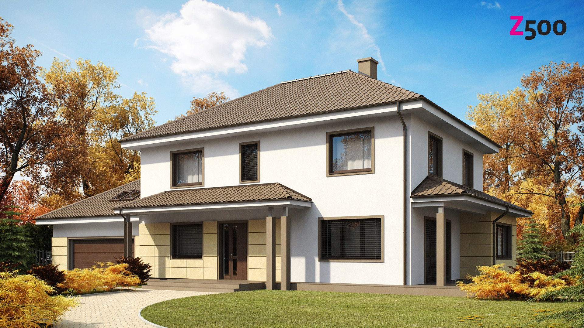 проект дома Zx16