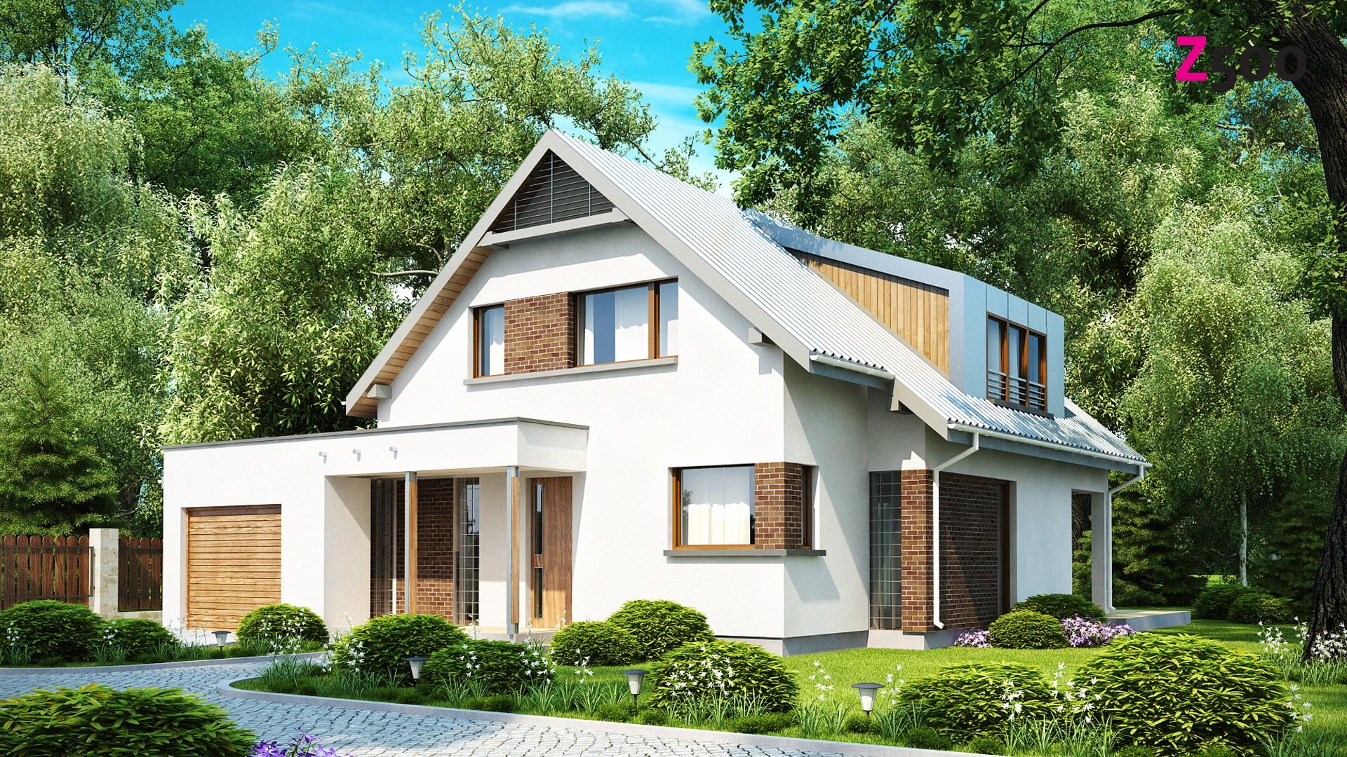 проект дома Zx23