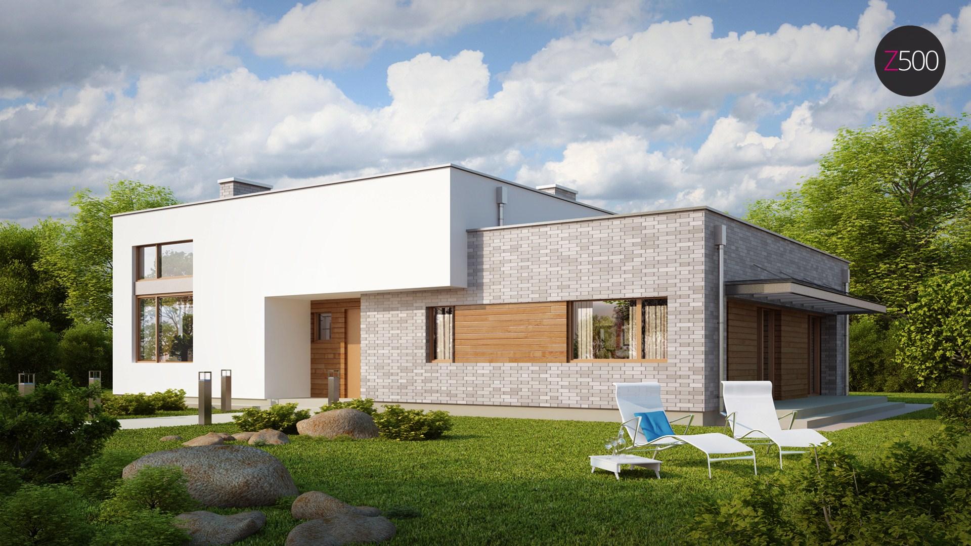 проект дома Zx34
