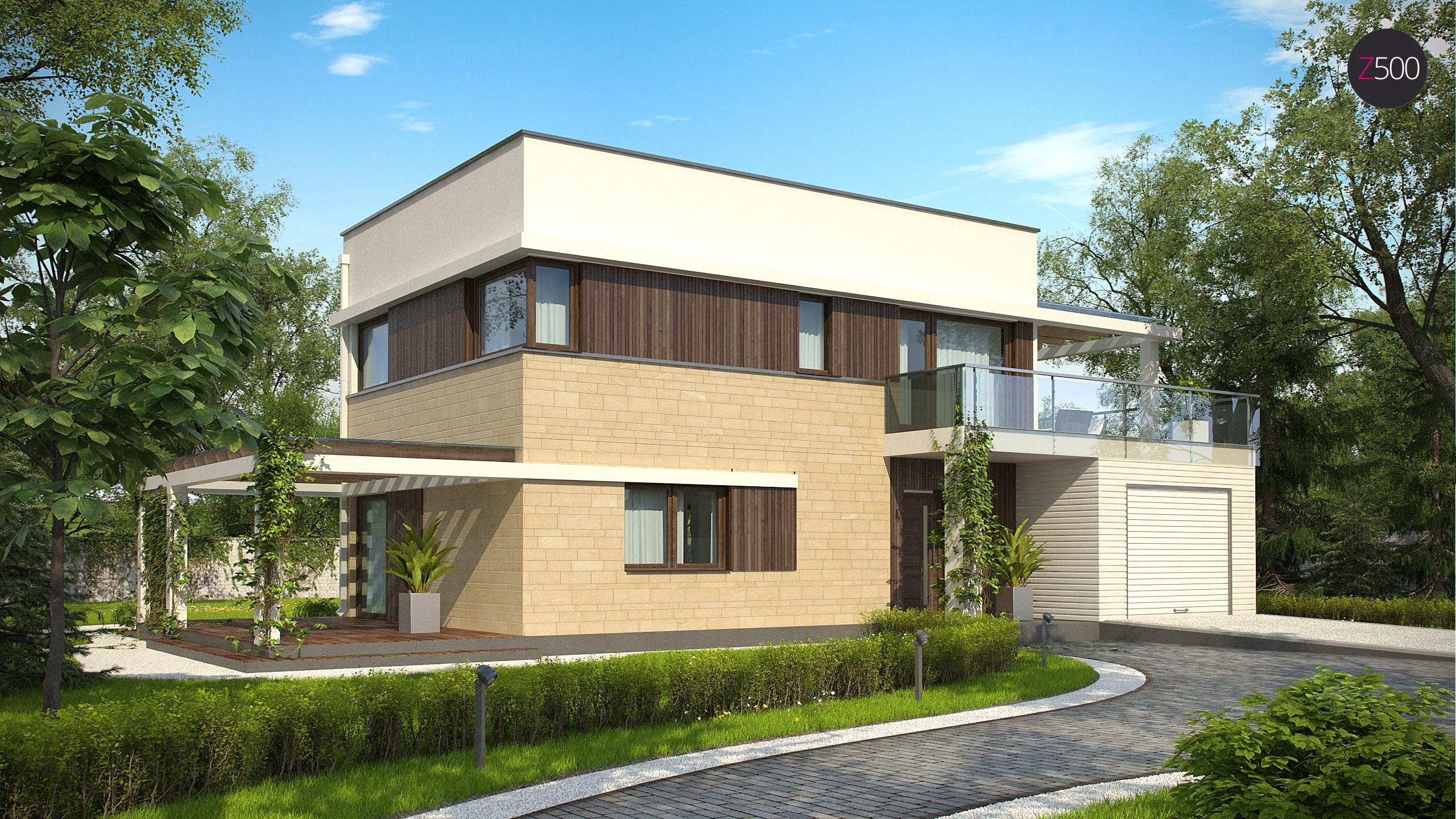 проект дома Zx63_A