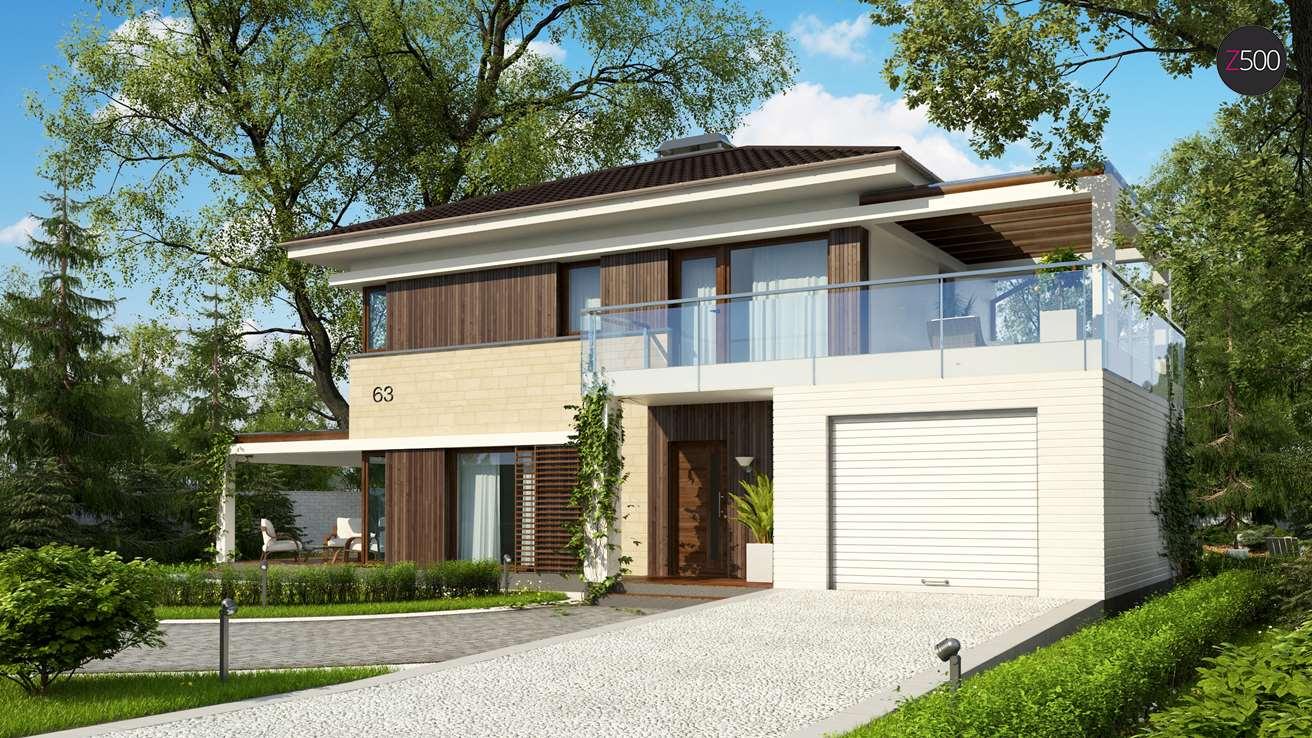 проект дома Zx63_B