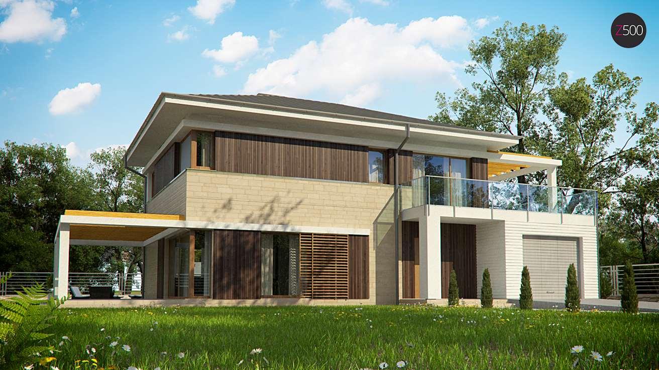 проект дома Zx63_B+