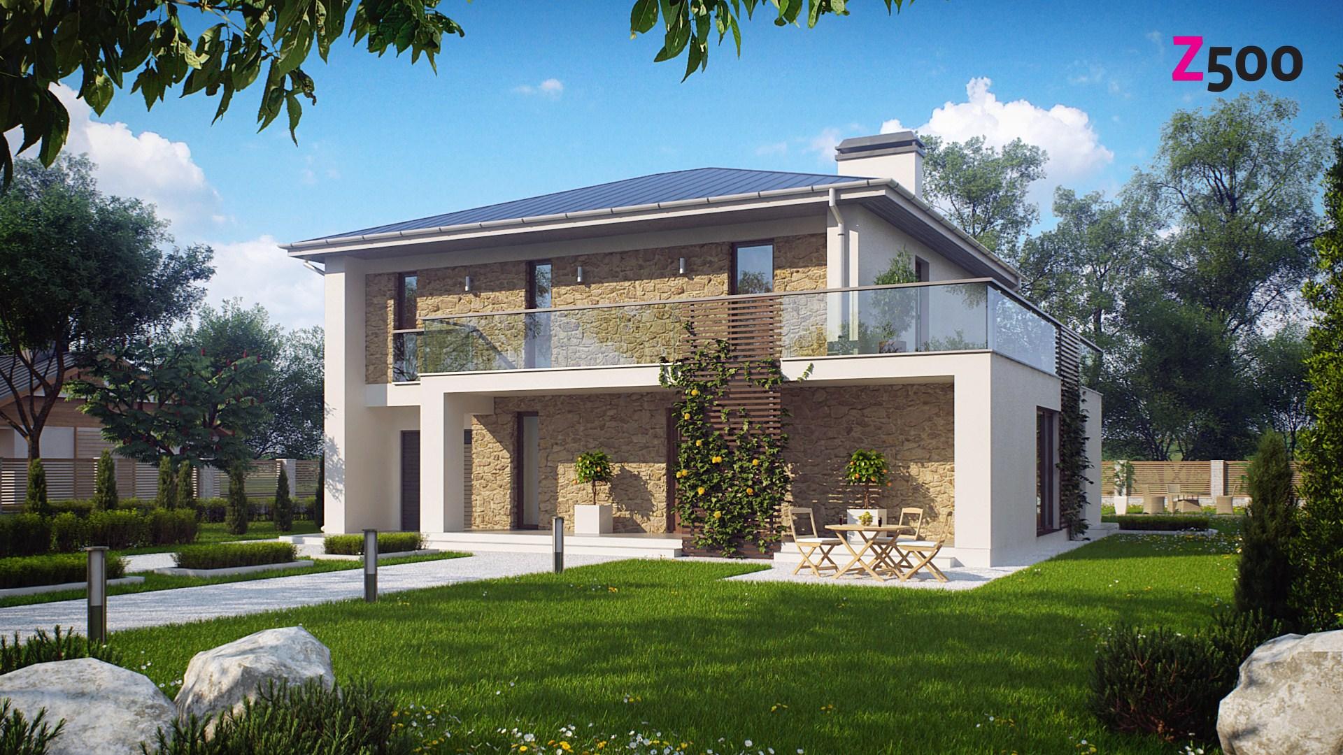 проект дома Zx55