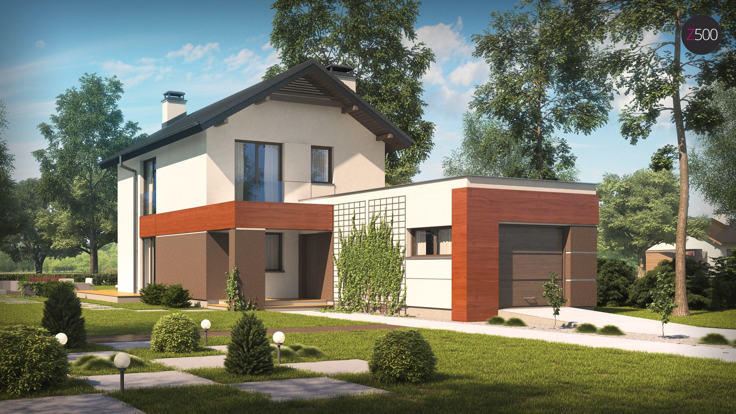 проект дома Z297_GF