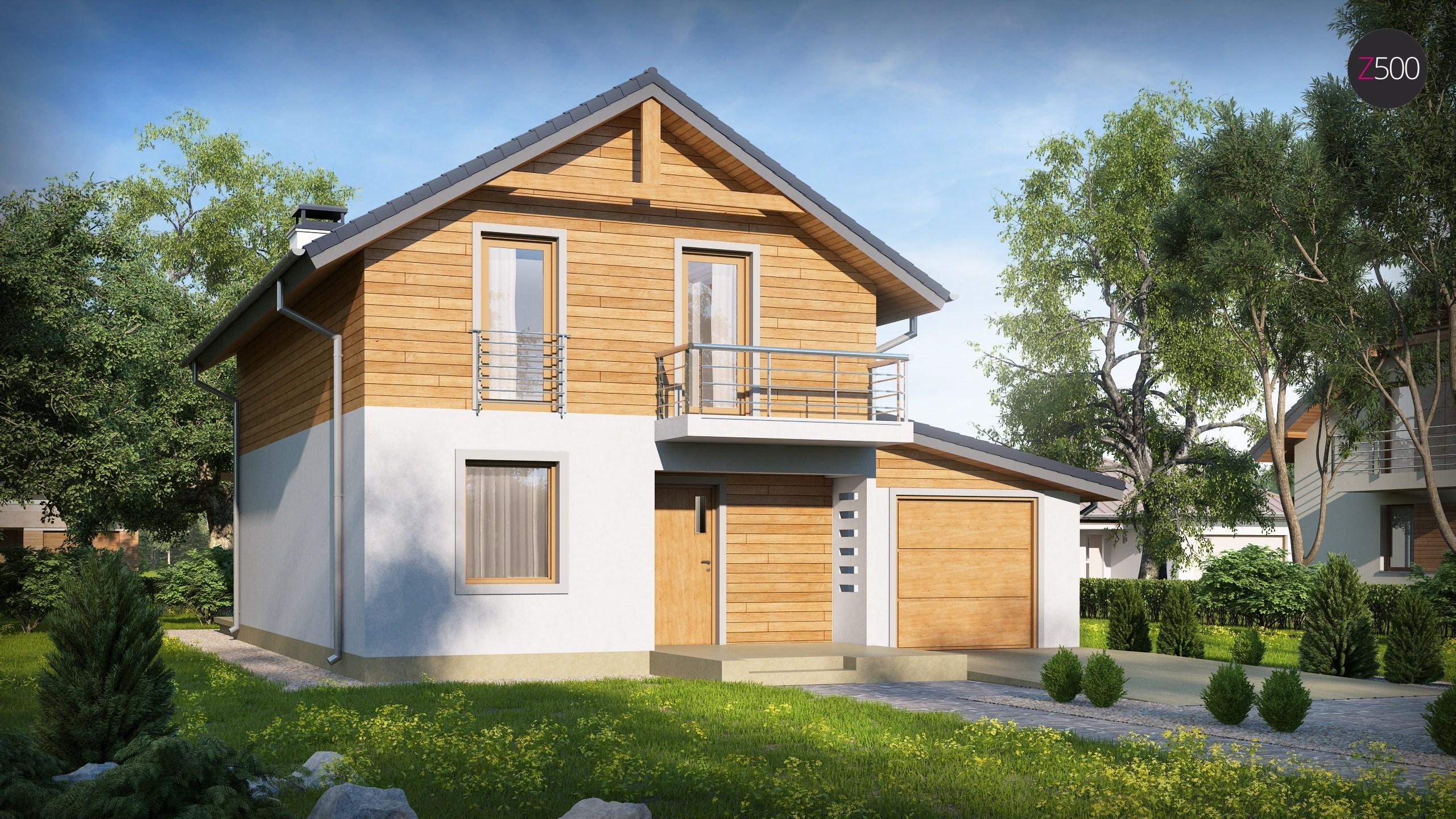 проект дома Z38_D_L_GP