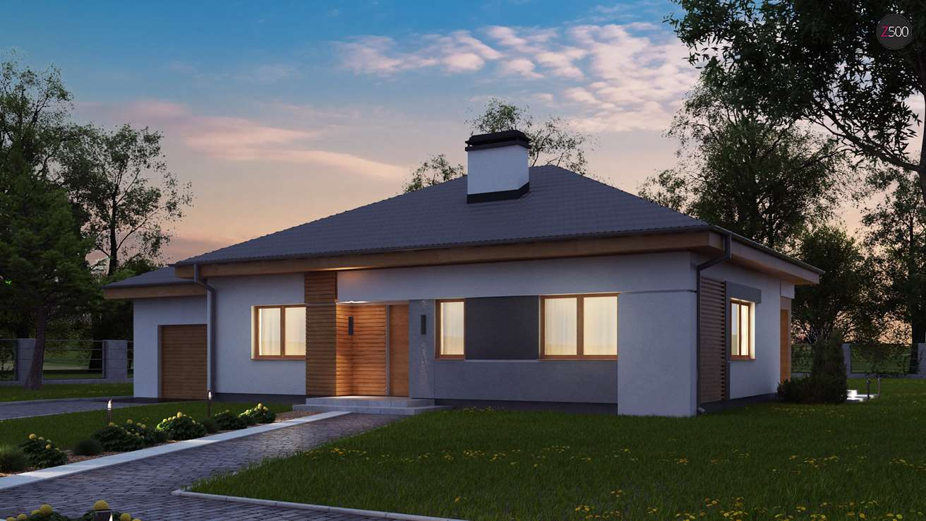 проект дома Z273_a L GL