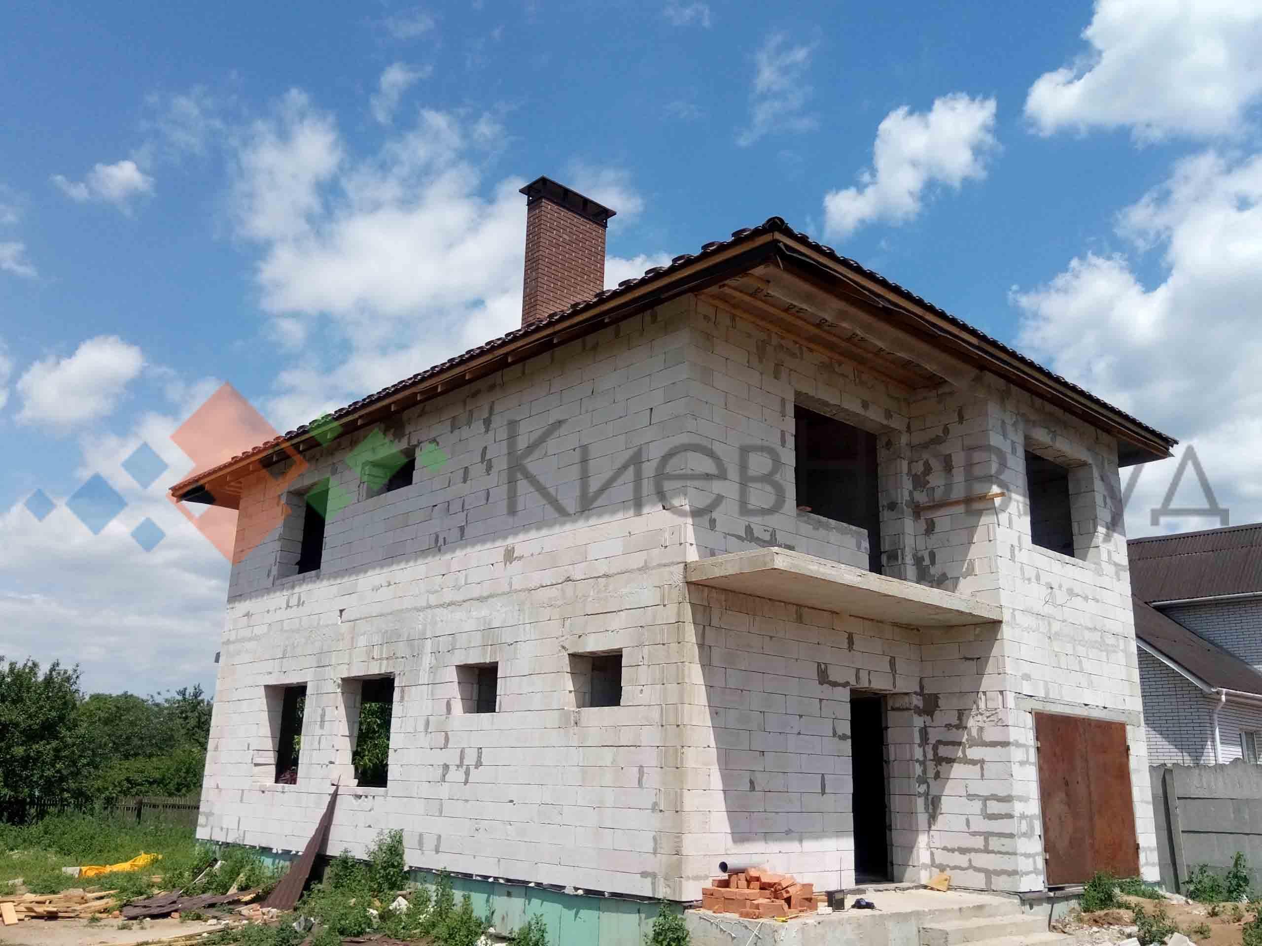 Дом 220 м2 в Киеве (Бортничи)