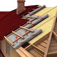 Гидроизоляция и утепление крыши