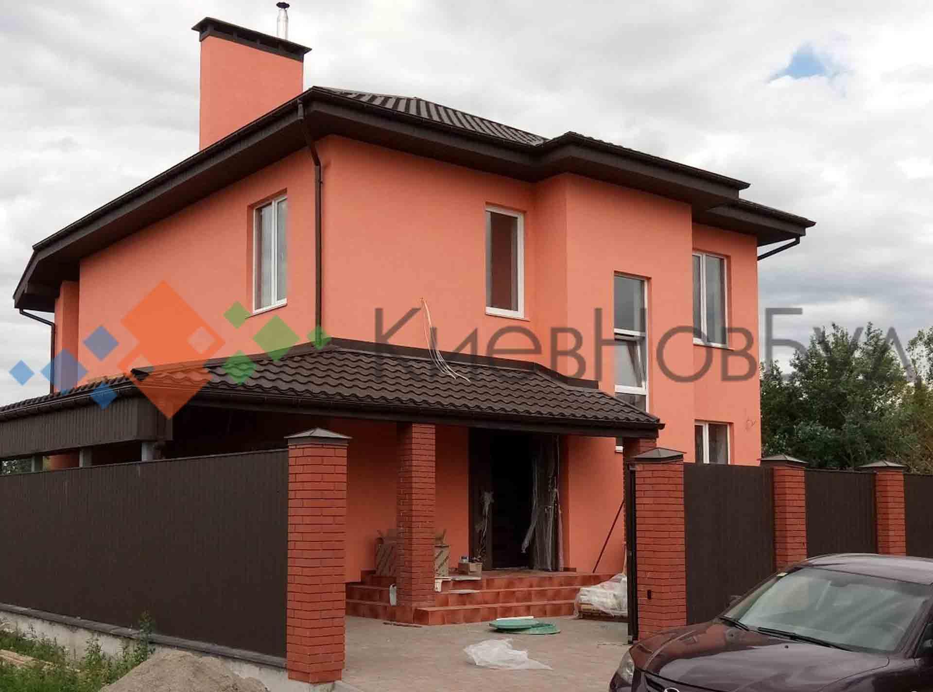 Дом 173 м2 в с. Троещина