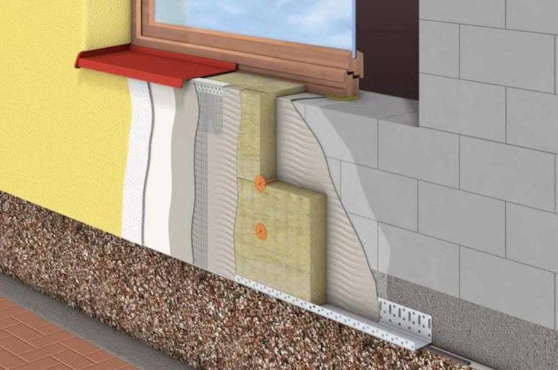 утепление стен в частном доме