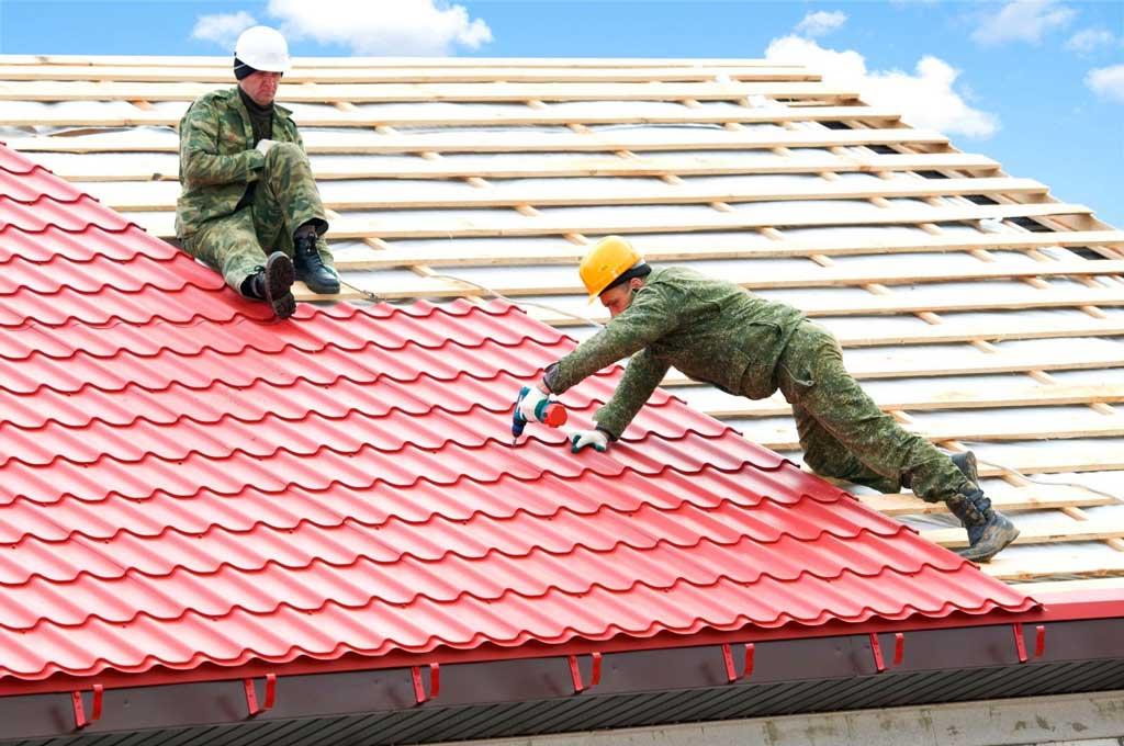 ошибки монтаж крыши